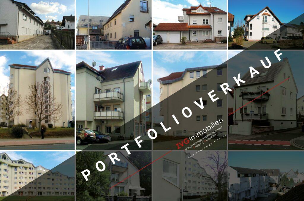 Portfolioverkauf aus laufendem Insolvenzverfahren mit rund 45 Liegenschaften rund um Frankfurt am Main.