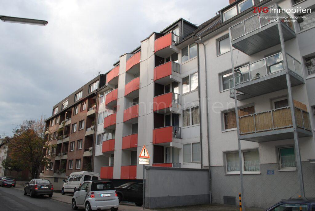Insolvenzverkauf von einem Apartment in Köln-Nippes, vor Versteigerung