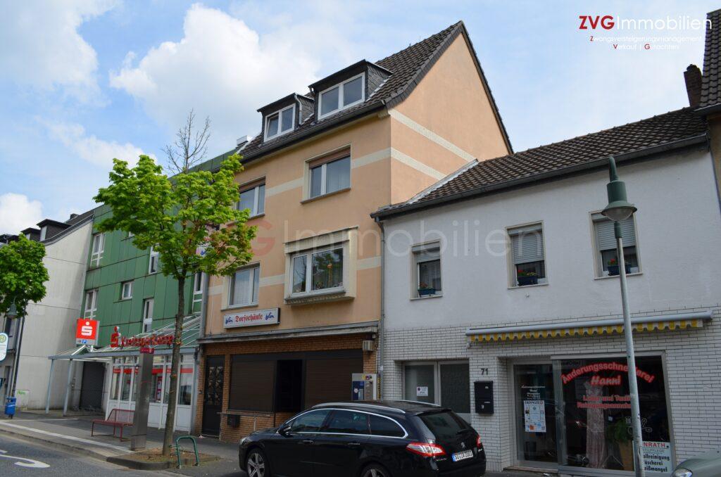 Wohn- und Geschäftshaus mit Gastronomie in Troisdorf versteigert