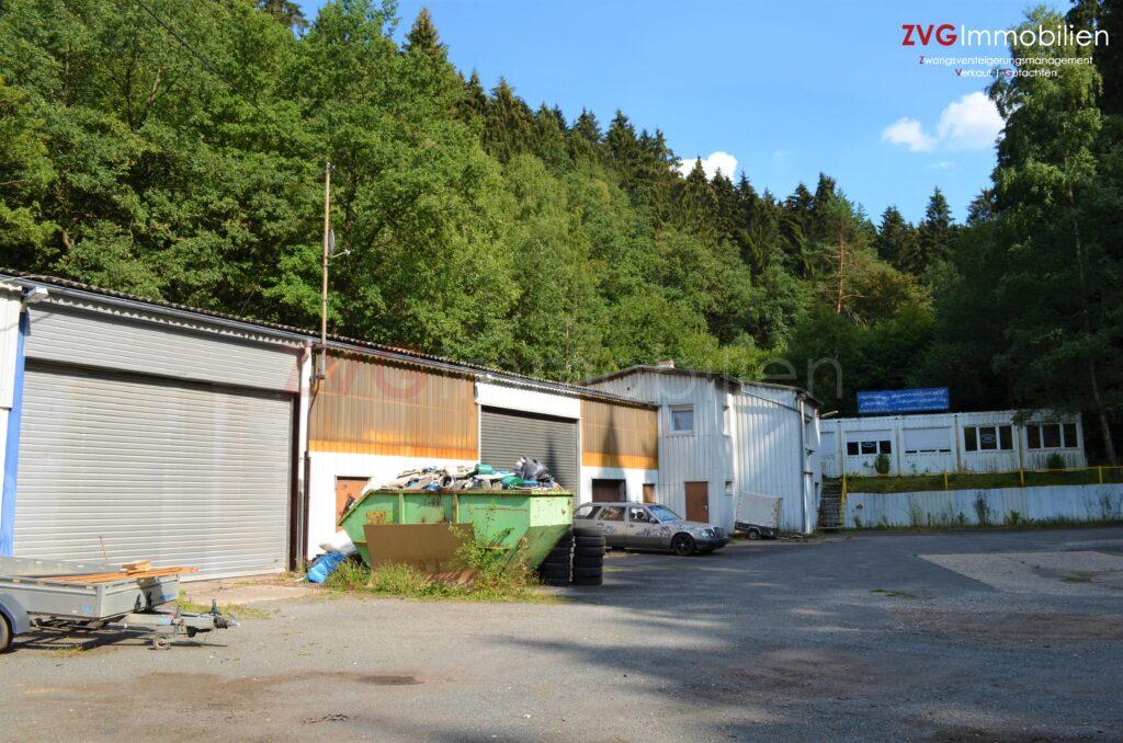 Abwicklung von einem bebauten Gewerbeareal auf Erbpachtgrundstück in Siegen