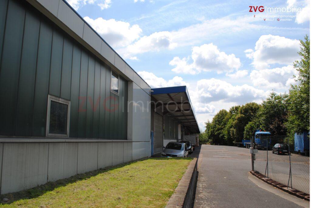 Knapp 8.000,00 m² Produktions- und Lagerflächen im Auftrag der Bank, im Rhein-Sieg-Kreis versteigert